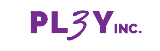 PL3Y Logo White@2x